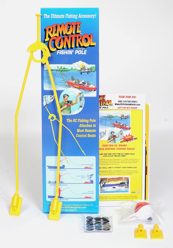 Fishing with remote control boats bait boats and rc fishing
